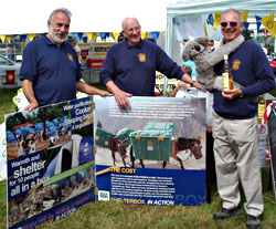 Rotary stand at Dunster Show
