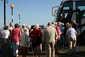 Senior Citizens outing to Sidmouth