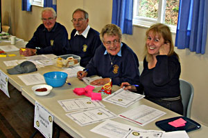 Rotary Exmoor Challenge - the mission control centre