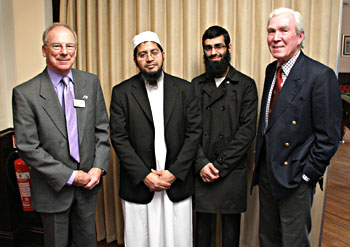 Muslim cultute comes to Exmoor Rotary