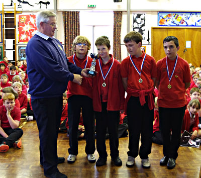 Seward Cup for Two Moors Primary School